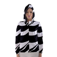 White or black Hooded Wind Breaker (Women)