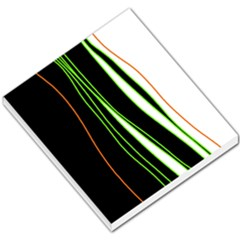Colorful lines harmony Small Memo Pads