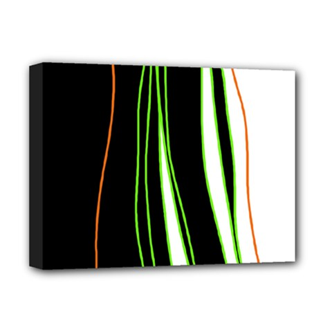 Colorful lines harmony Deluxe Canvas 16  x 12