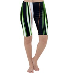 Colorful lines harmony Cropped Leggings