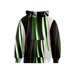 Colorful lines harmony Kids  Pullover Hoodie