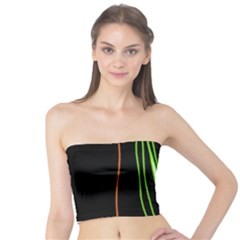 Colorful lines harmony Tube Top