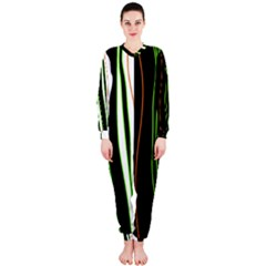 Colorful lines harmony OnePiece Jumpsuit (Ladies)