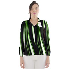 Colorful lines harmony Wind Breaker (Women)
