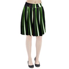 Colorful Lines Harmony Pleated Skirt