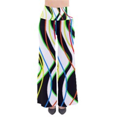 Colorful lines - abstract art Pants