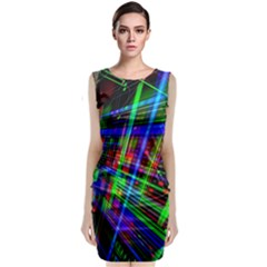 Electronics Board Computer Trace Classic Sleeveless Midi Dress