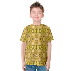 Fabric Design Pattern Color  Kids  Cotton Tee