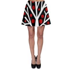 Simply decorative tree Skater Skirt