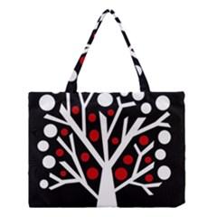 Simply decorative tree Medium Tote Bag