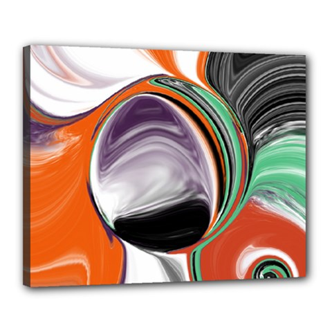 Abstract Orb Canvas 20  x 16