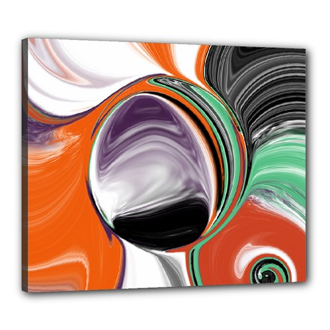 Abstract Orb Canvas 24  X 20