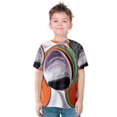 Abstract Orb Kids  Cotton Tee