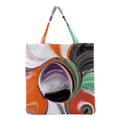 Abstract Orb Grocery Tote Bag