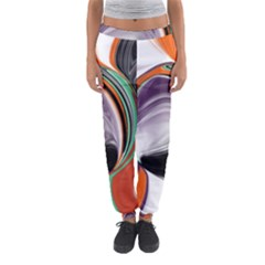Abstract Orb Women s Jogger Sweatpants
