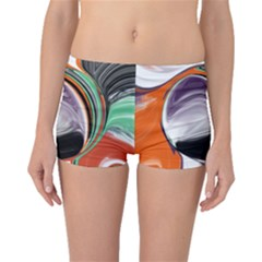 Abstract Orb Boyleg Bikini Bottoms