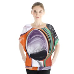 Abstract Orb Blouse