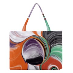Abstract Orb Medium Tote Bag