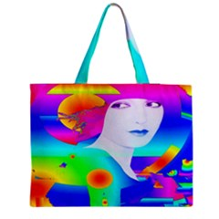Abstract Color Dream Medium Tote Bag