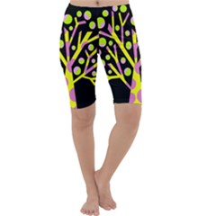 Simple colorful tree Cropped Leggings