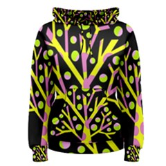 Simple colorful tree Women s Pullover Hoodie