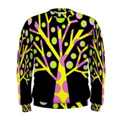 Simple colorful tree Men s Sweatshirt