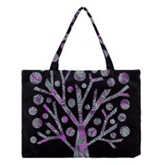 Purple Magical Tree Medium Tote Bag