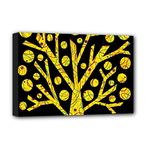 Yellow magical tree Deluxe Canvas 18  x 12