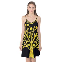 Yellow magical tree Camis Nightgown