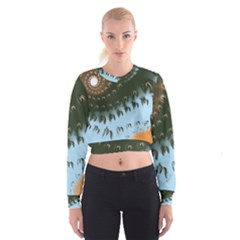 Sunraypil Women s Cropped Sweatshirt