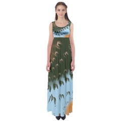 Sunraypil Empire Waist Maxi Dress