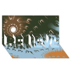 Sunraypil Believe 3d Greeting Card (8x4)