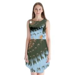 Sunraypil Sleeveless Chiffon Dress