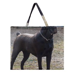 Cane Corso Full Zipper Large Tote Bag