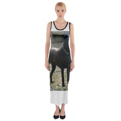 Cane Corso Full Fitted Maxi Dress