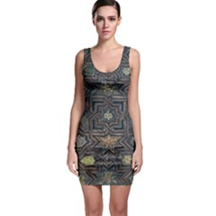 Granada Alhambra Generalife Rural Sleeveless Bodycon Dress