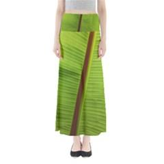 Ensete Leaf Maxi Skirts