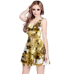 Mechanical Steampunk Reversible Sleeveless Dress