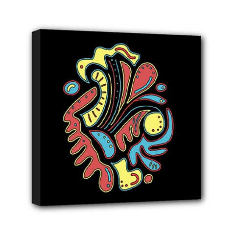 Colorful abstract spot Mini Canvas 6  x 6