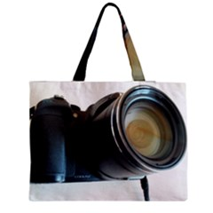 My Camera Medium Zipper Tote Bag