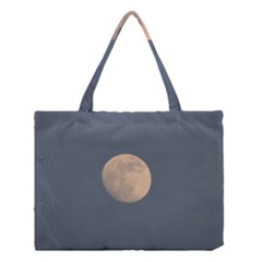 The Moon and blue sky Medium Tote Bag