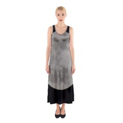 Close to the full Moon Sleeveless Maxi Dress