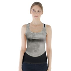 Close to the full Moon Racer Back Sports Top