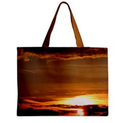 Summer Sunset Medium Tote Bag