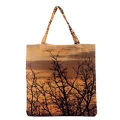 Colorful Sunset Grocery Tote Bag