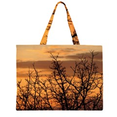 Colorful Sunset Large Tote Bag