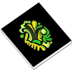 Yellow and green spot Small Memo Pads