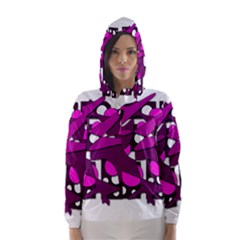 Something purple Hooded Wind Breaker (Women)