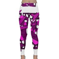 Something purple Yoga Leggings