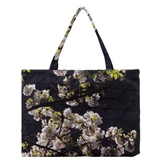 Japanese cherry flower Medium Tote Bag